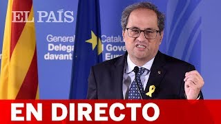En directo: TORRA expone en el Teatre Nacional su plan para el nuevo curso político en Cataluña