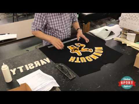 How It's Made: United Sport Apparel Varsity Jackets