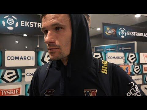 Skorża i Frączczak po meczu z Cracovią