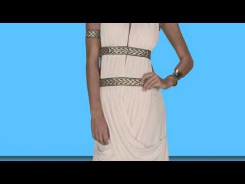 Athenian Goddess Costume - ESCAPADE FANCY DRESS
