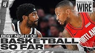 Best Night of Basketball So Far | Through The Wire Podcast