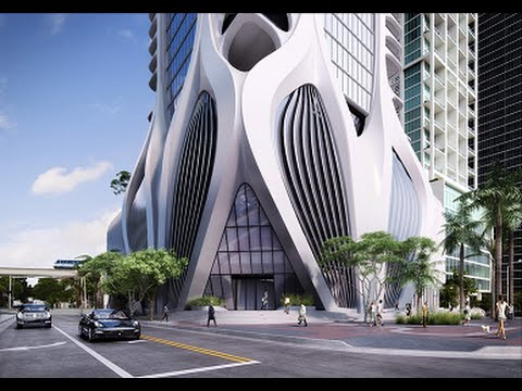 1000 Museum Residential Tower by Zaha Hadid in Miami, USA - 2018