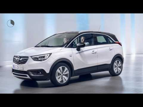 opel crossland x 1 2 turbo s s online edition youtube. Black Bedroom Furniture Sets. Home Design Ideas