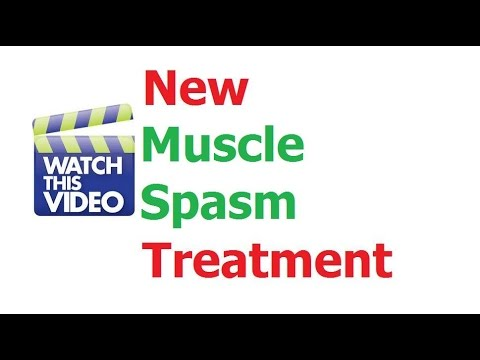 Muscle Spasm Treatment Treat Spasms Pain Fast - YouTube