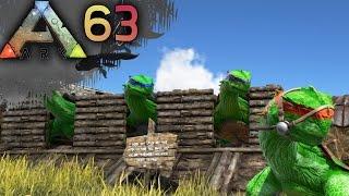 hulk ninja turtles and oviraptor derps ark survival evolved server gameplay e63   docm77 1080p