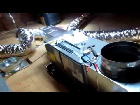 HVAC:new central air conditioning installed in home