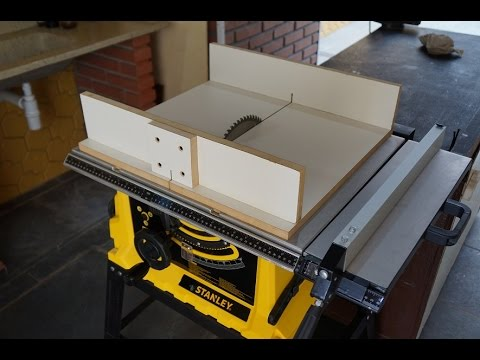 Guia para serra circular de bancada table saw sled youtube - Mesa para circular ...