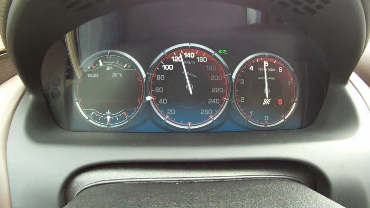 Jaguar Xj Supersport 5 0 V8 Supercharged 0 190 Km H Acceleration