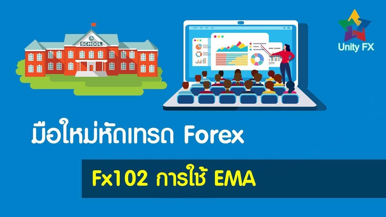 มือใหม่หัดเทรด Forex FX102 การใช้ EMA