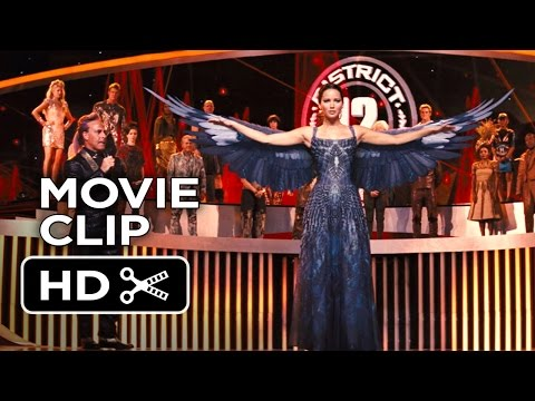 the-hunger-games:-catching-fire-movie-clip-#6---the-mockingjay-appears-(2013)-movie-hd