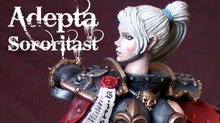 Adeptus Sororitas - 40k Green Stuff Conversion RetributionAngel(, 2015-08-10T22:00:25.000Z)