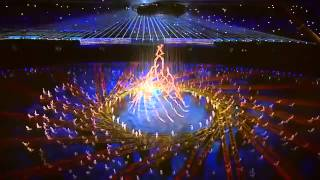 Opening ceremony of the Youth Olympic Games in Nanjing - La Fura dels Baus