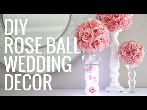 DIY FLORAL BALL- EASY & GORGEOUS CENTERPIECES!