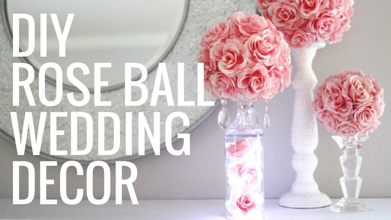 DIY FLORAL BALL- EASY & GORGEOUS CENTERPIECES! - YouTube