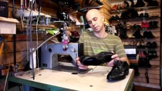 видео Ремонт дорогой элитной обуви в Москве