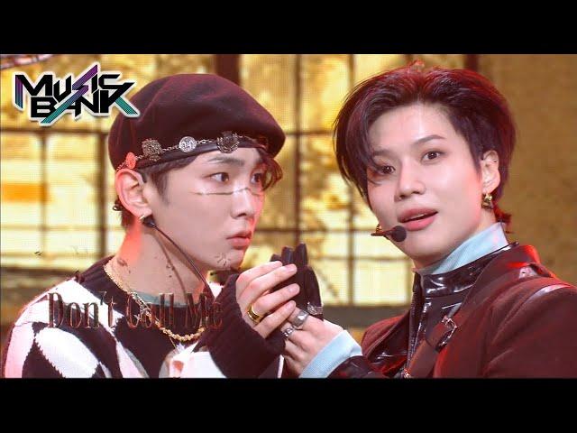 SHINee(샤이니) - Don't Call Me (Music Bank) | KBS WORLD TV 210305