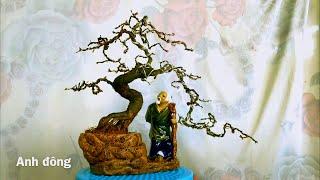 Cây bonsai dáng trực phá cách