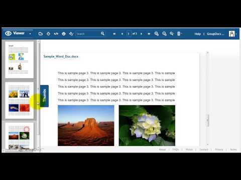 How To View Office Documents Online Using GroupDocs Viewer