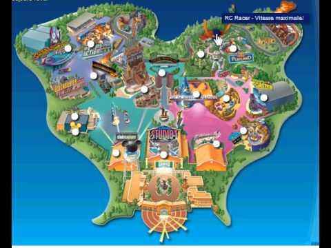 Le Plan Anime Du Walt Disney Studios Paris Youtube
