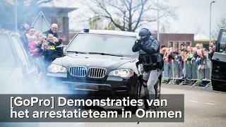 [GoPro] Demo's arrestatieteam open dag hulpdiensten Ommen - ©StefanVerkerk.nl