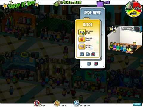 Shop It Up! - Gameplay Part 1 (Level 1 to 6) - North Entrance