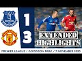 EXTENDED HIGHLIGHTS: EVERTON 1-3 MAN UNITED
