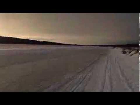 Winter Running on Ounasjoki River | Rovaniemi, Lapland, Finland
