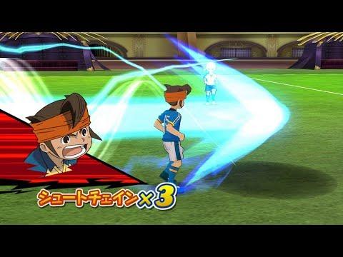 Inazuma Eleven Go Strikers 2013 Inazuma Japan 3.0 Vs Raimon GO Wii 1080p (Dolphin/Gameplay)