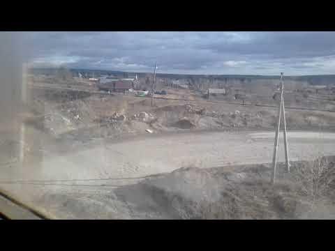 На электричке от Екатеринбурга до Шали