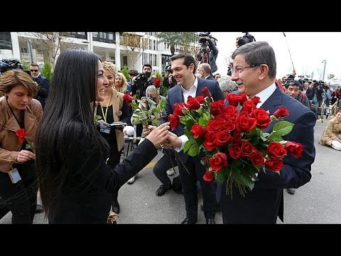 Journalists accept Turkish MP's roses days after media takeover