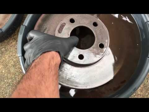 2004 Mustang Front Brake Rotors | Vinegar Bath Rust Removal