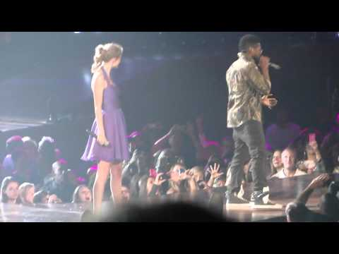 Taylor Swift and Usher singing Yeah (In Atlanta)