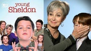 Young Sheldon Season 1 Cast Interviews - Iain Armitage,  Montana Jordan & Raegan Revord