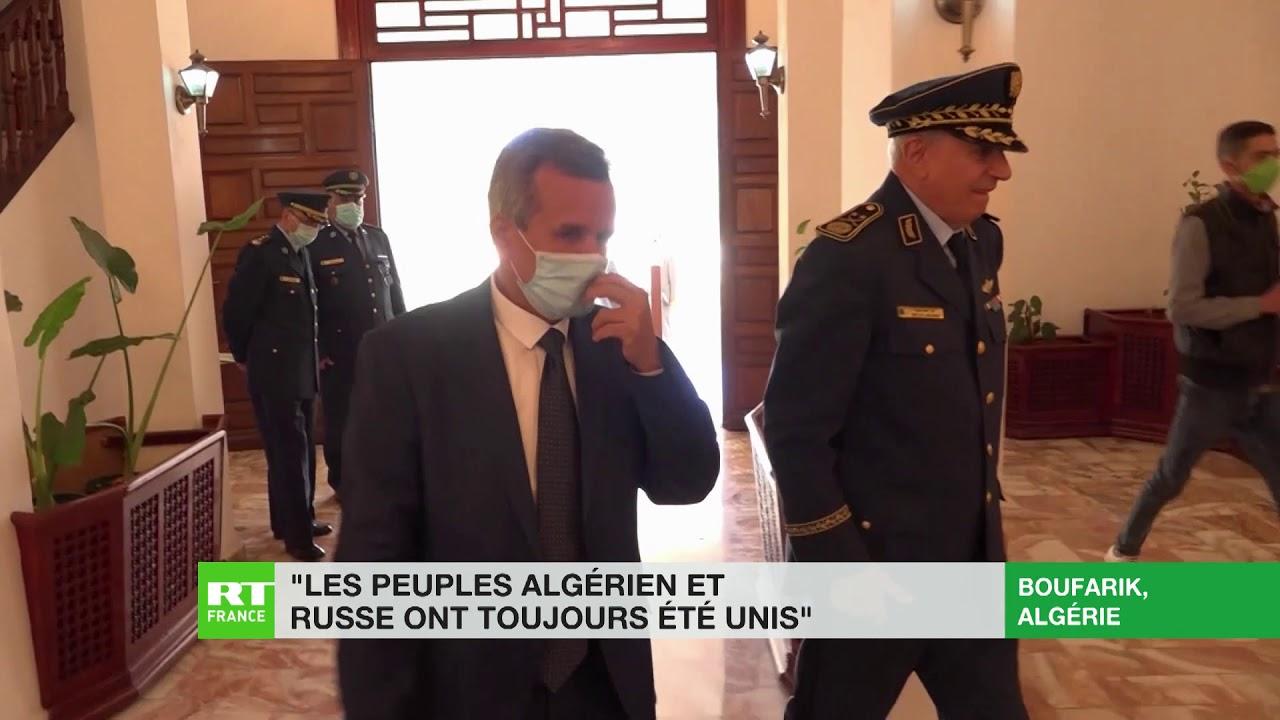 Covid-19 : la Russie fait parvenir du matériel médical à l'Algérie