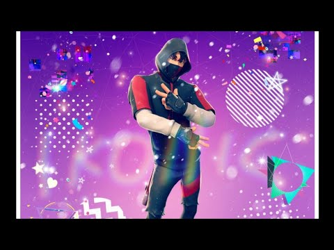 Ikonic Nova Skin Do Fortnite Minha Wallpaper Youtube