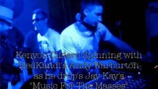 Kenyon Clidero spinning with HedKandi - BPM Festival 2010 @ Kool Beach Playa Del Carmen