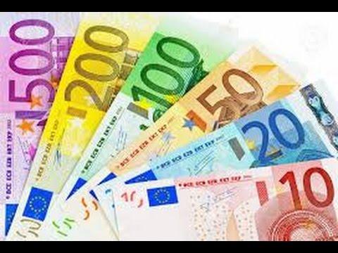 Los billetes de 5 10 20 50 100 200 y 500 euros for Sitzkissen gunstig 1 euro