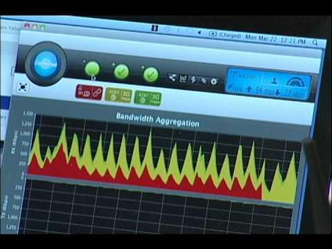 InterDigital Bandwidth Aggregation Demonstration