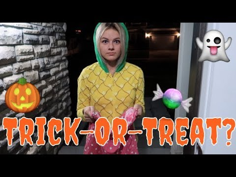 TYPES OF TRICK-OR-TREATERS