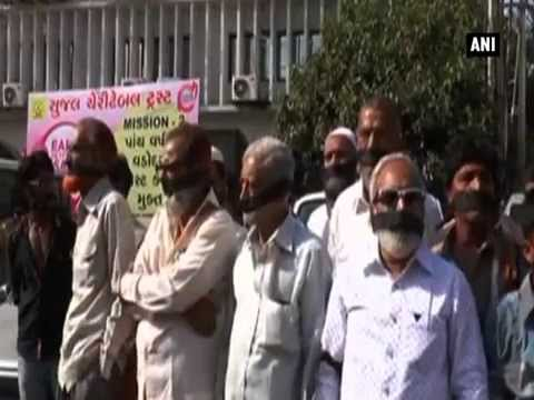 Muslims in Gujarat take to street against anti-terror bill