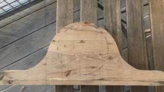 Custom Tambour Mantle Clock