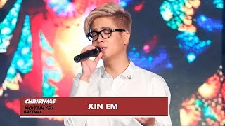 xin em - bui anh tuan  christmas live concert official video