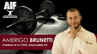 94 Scienze Motorie Talk Show - AMERIGO BRUNETTI