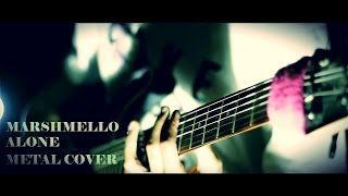 Video Marshmello - Alone - Djent METAL COVER By Jeje GuitarAddict download MP3, 3GP, MP4, WEBM, AVI, FLV Januari 2018