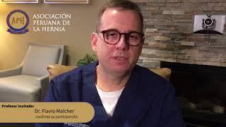 Dr. Flavio Malcher participará en II Congreso de la Hernia