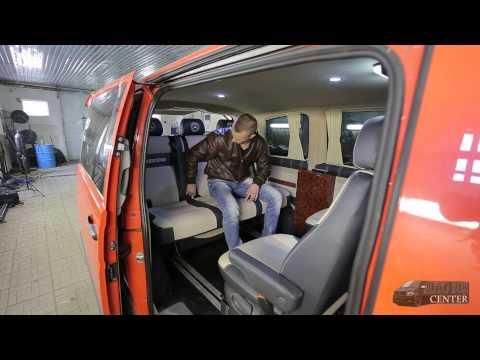 видео: Переоборудование микроавтобусов - Автомобильный диван трансформер premium