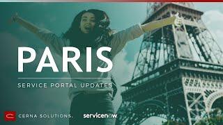 New in Paris: Service Portal Updates & Fresh Features