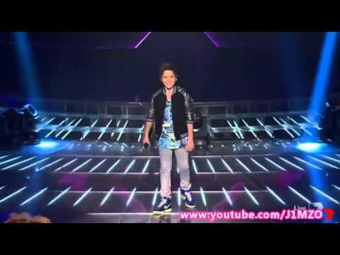 Jai Waetford - Week 6 - Live Show 6 - The X Factor Australia 2013 Top 7