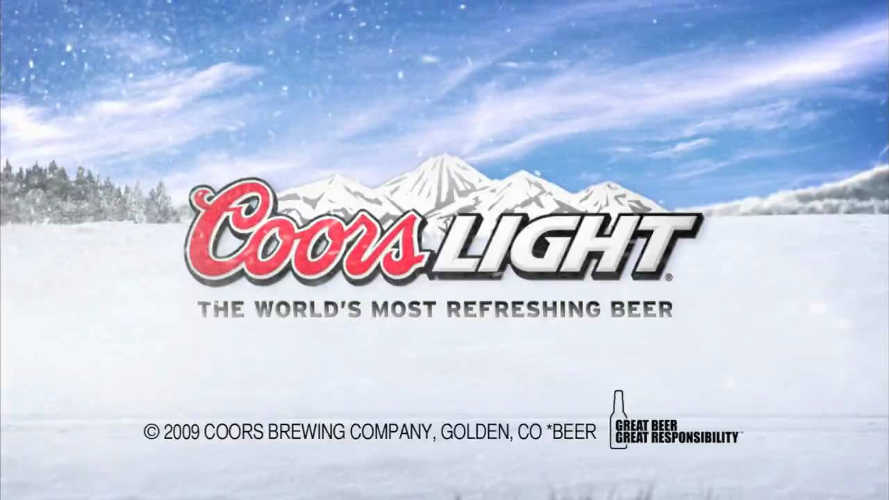 Coors Light - Cold Activated Can - YouTube