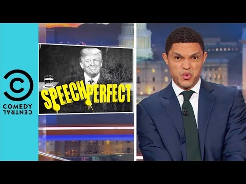 Trump's A+ State Of The Union Speech | The Daily Show